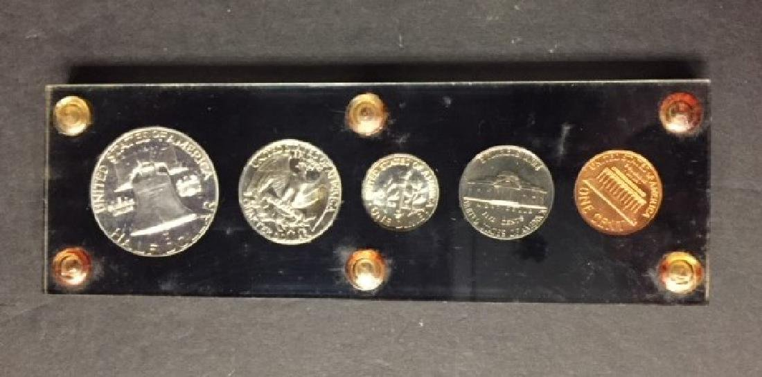 1962 US Silver Proof Set with Franklin Half - 2