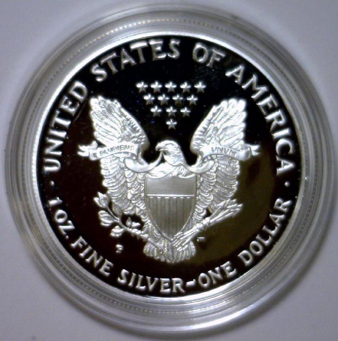 1998 Silver American Eagle Proof with Box & COA - 3