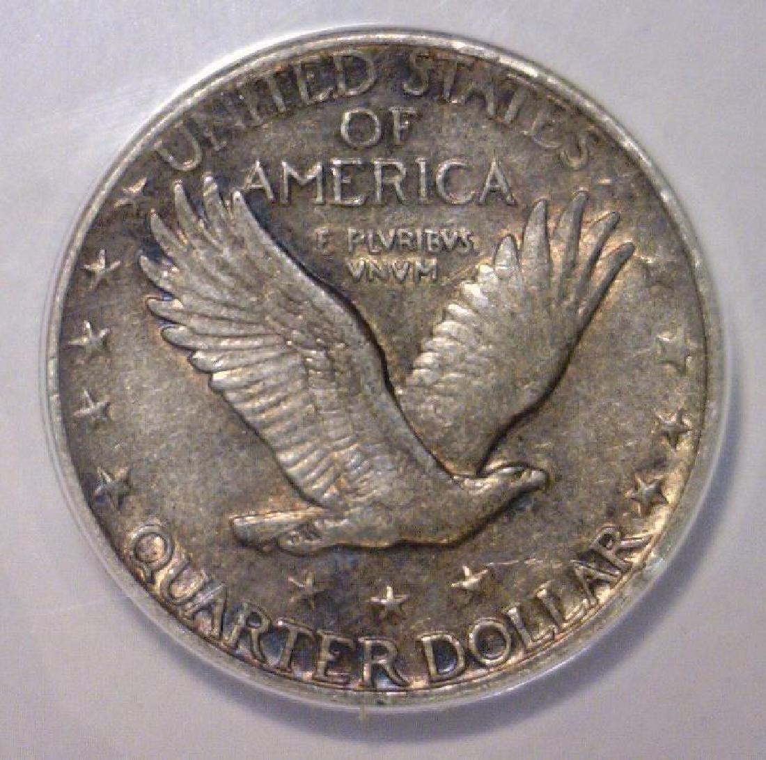 1926 Standing Liberty Silver Quarter ANACS XF EF45 - 2