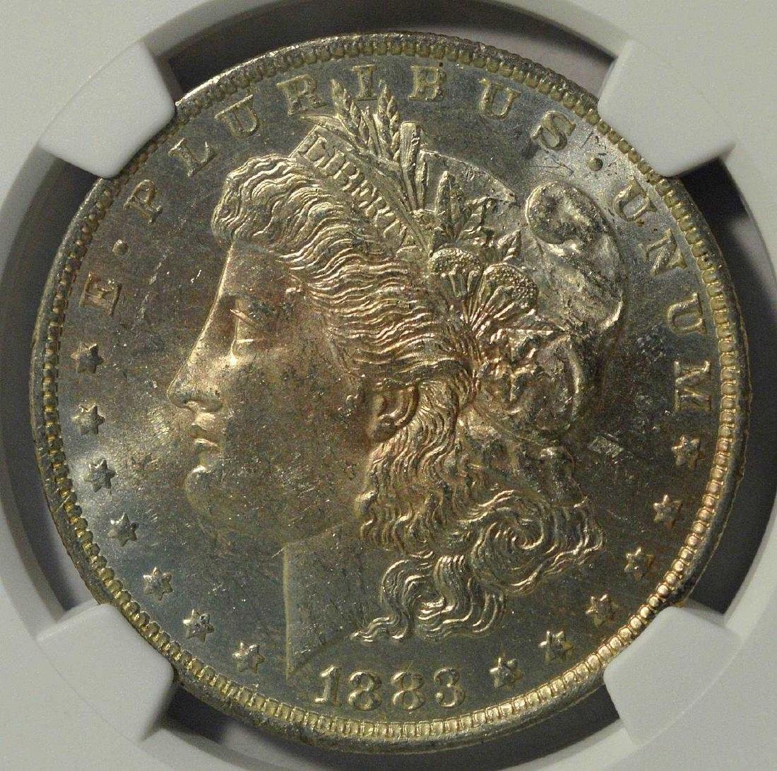 1883-O Morgan Silver Dollar NGC MS 62