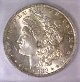 1883-O Morgan Silver Dollar ICG MS-64