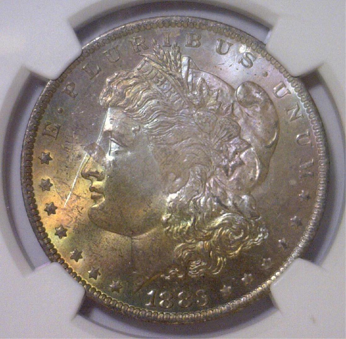 1883-O Morgan Silver Dollar NGC MS64+