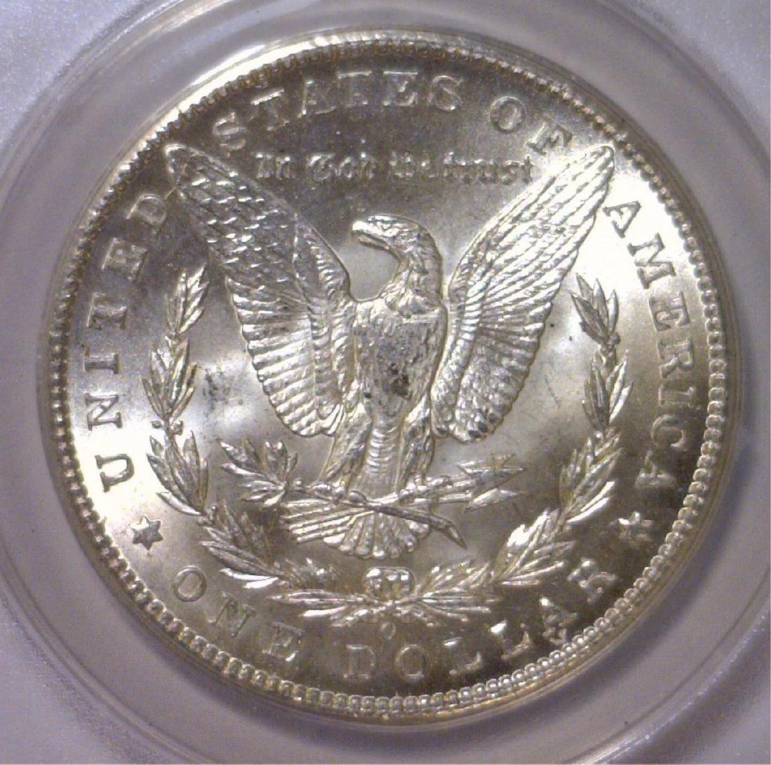 1898-O Morgan Silver Dollar ANACS MS63 - 3