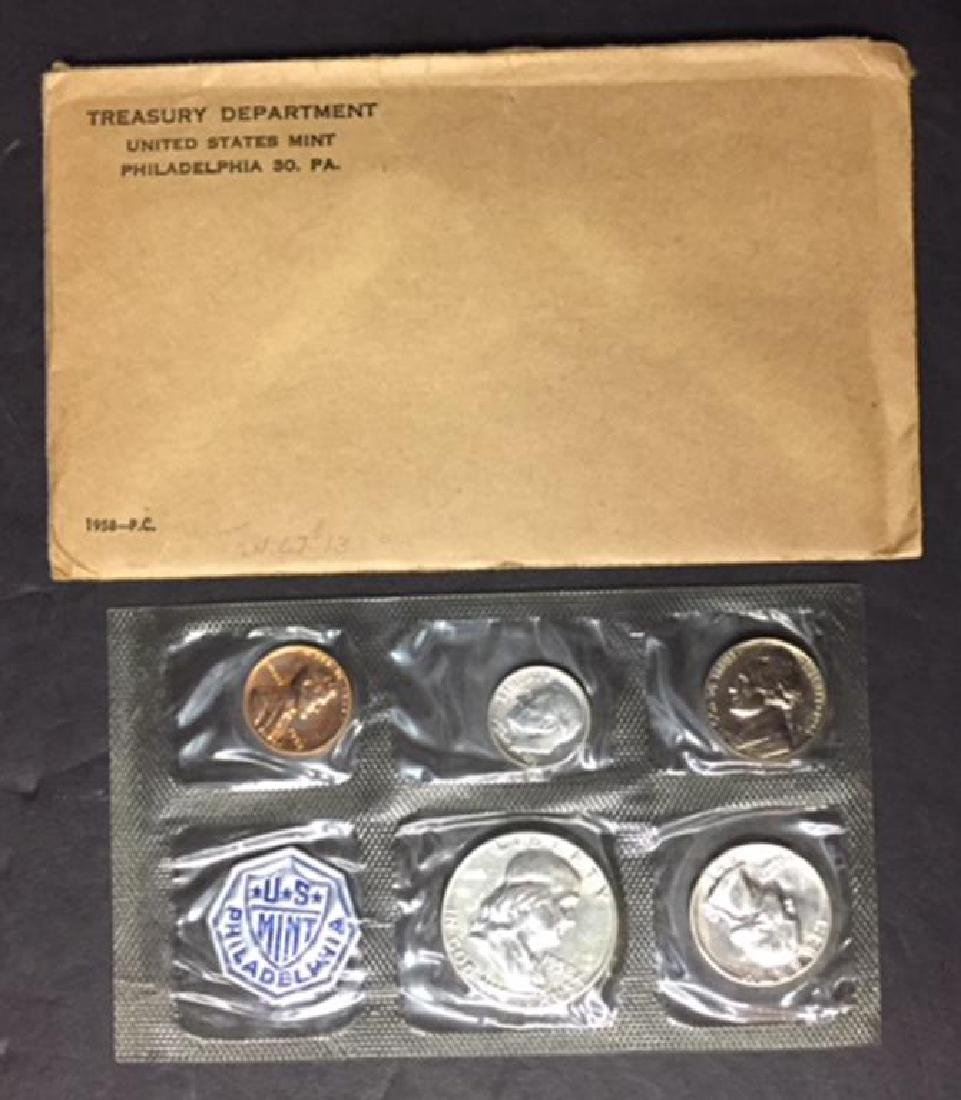 1958 US Silver Proof Set with Envelope - 3