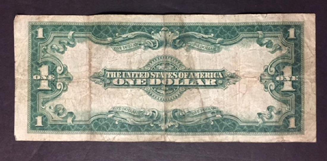 1923 $1 United States Legal Tender Large Note VG - 2