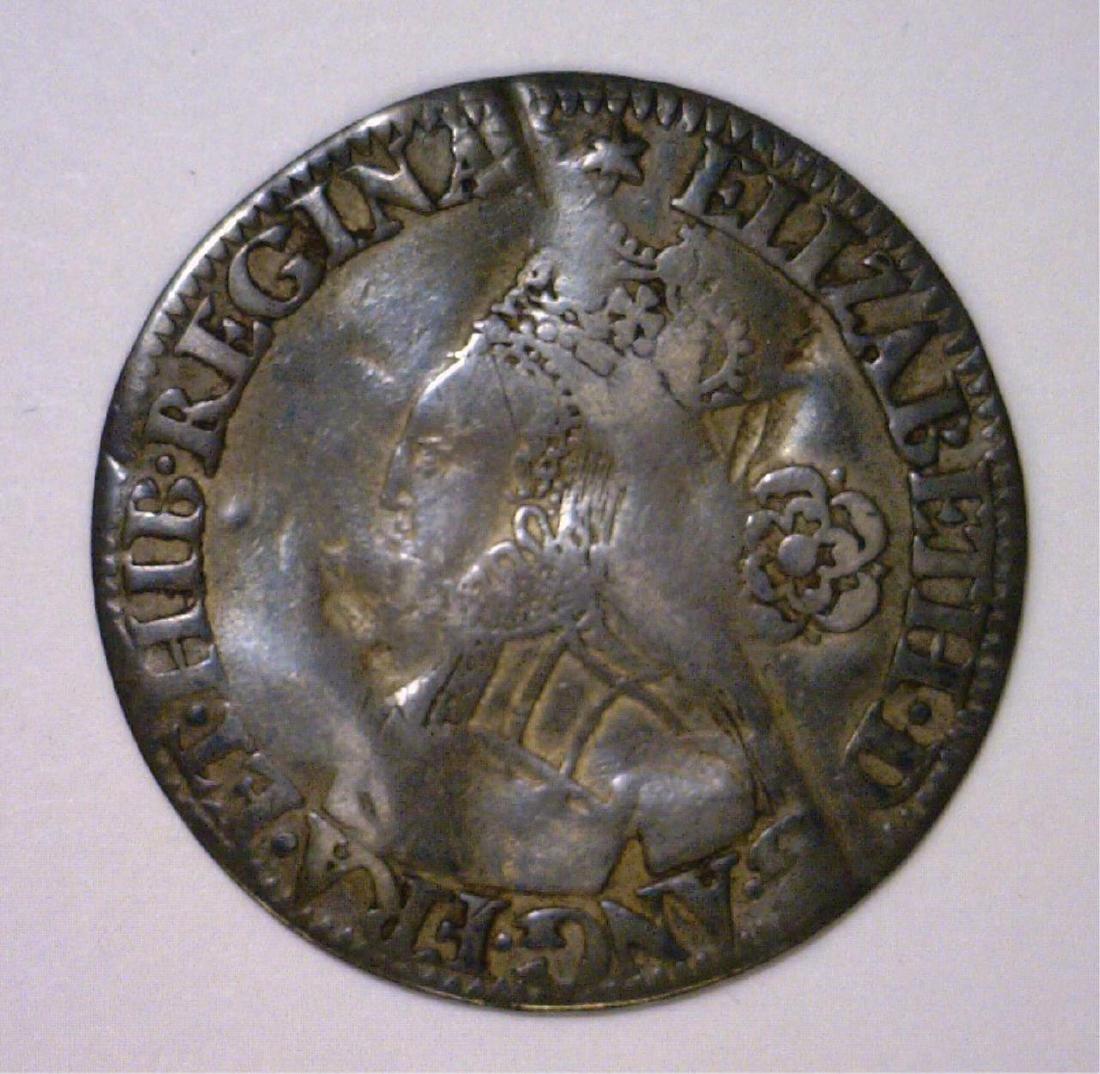 1562 Six Pence England Elizabeth I