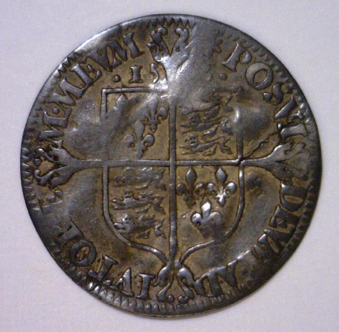 1562 Six Pence England Elizabeth I - 2