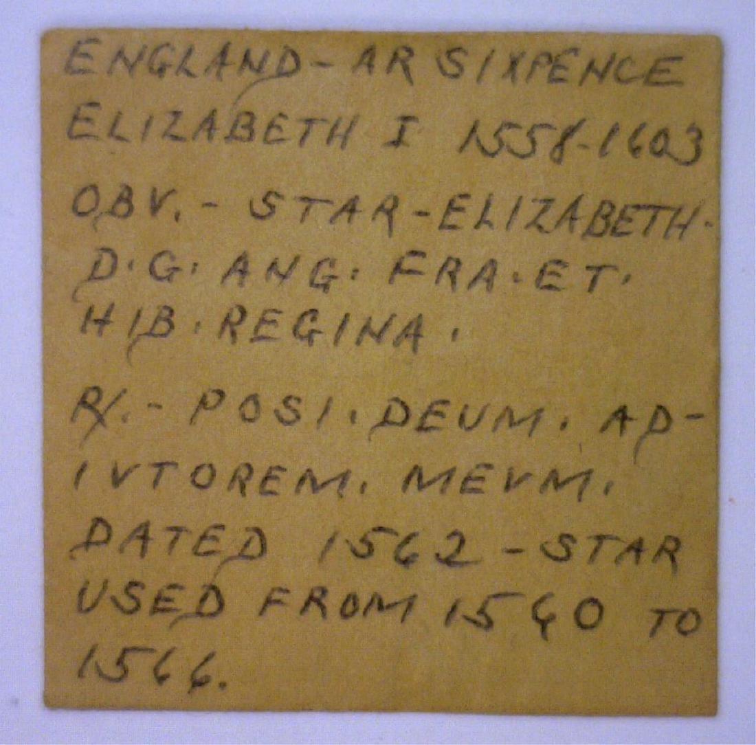 1562 Six Pence England Elizabeth I - 3