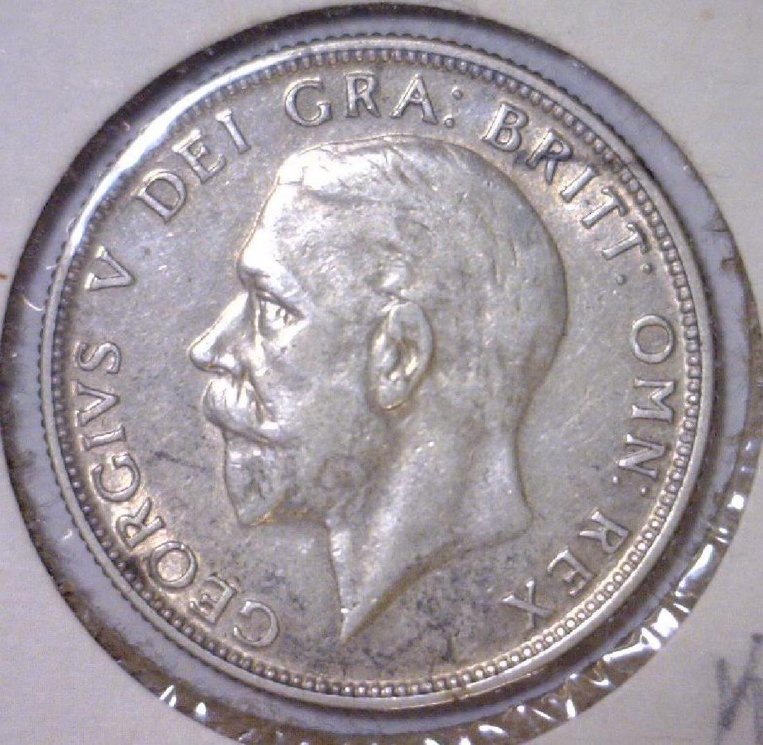 1935 Silver Florin Great Britain KM# 834 XF