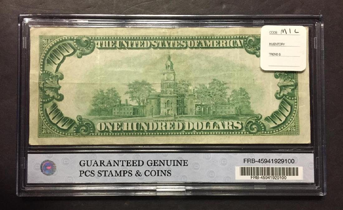 1929-B $100 National Currency FRB New York NY, VF - 2
