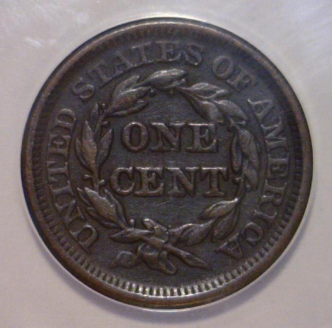 1846 Liberty Head Large Cent ANACS VF35 Details - 3