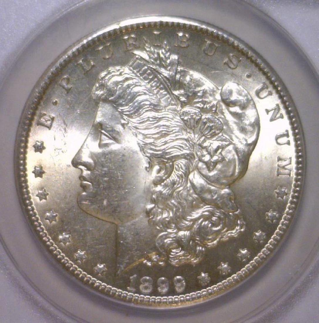 1899-O Morgan Silver Dollar ANACS MS64