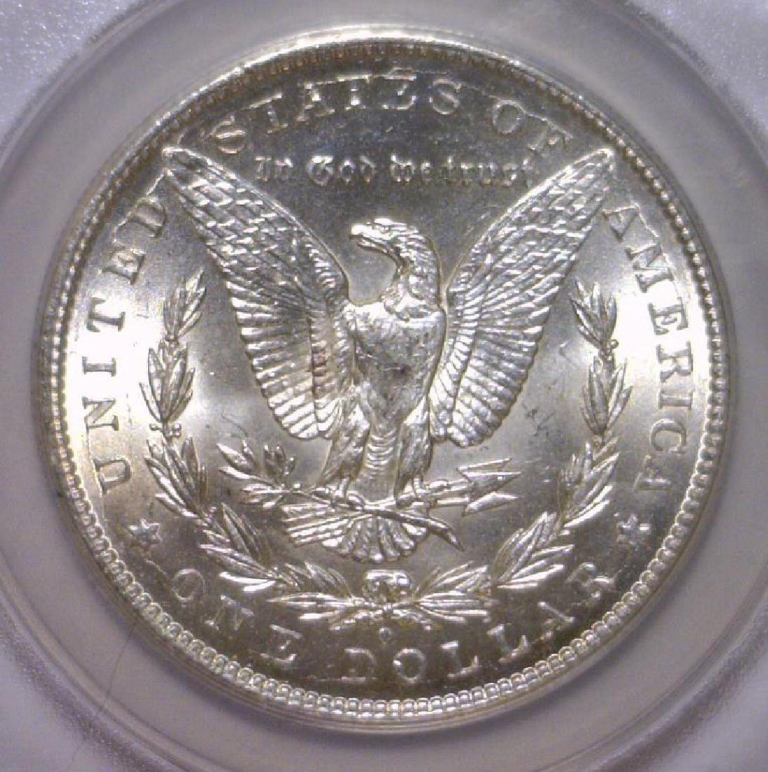 1899-O Morgan Silver Dollar ANACS MS64 - 3