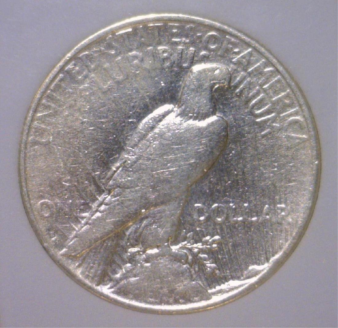 1934-S Peace Silver Dollar Very Fine Details - 2