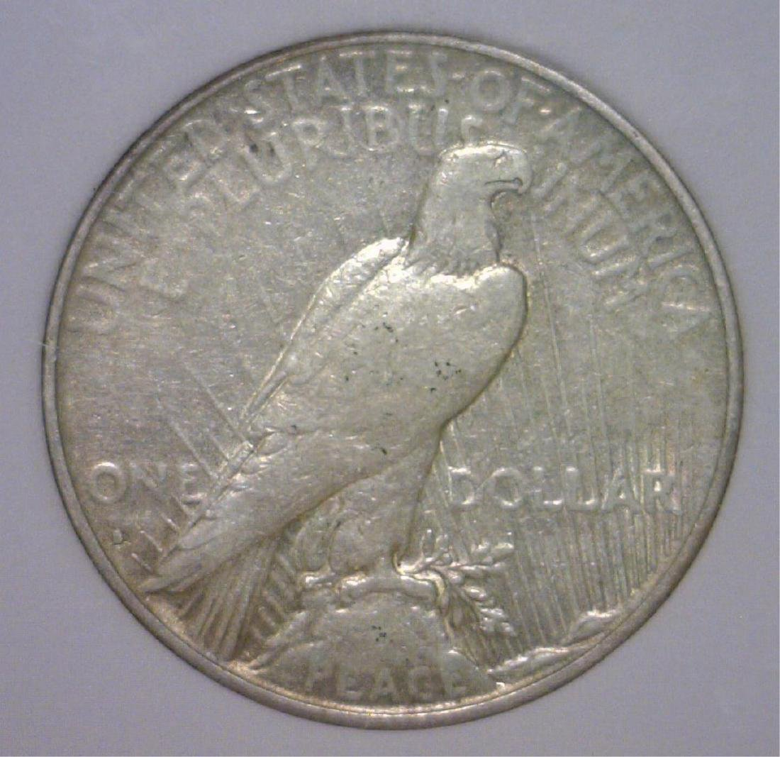 1935-S Peace Silver Dollar F/VF Details - 2