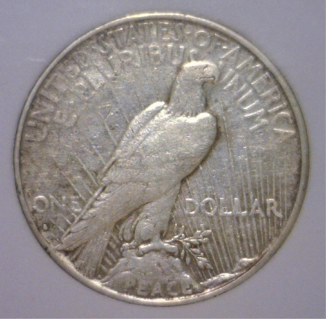 1935-S Peace Silver Dollar VF Details - 2