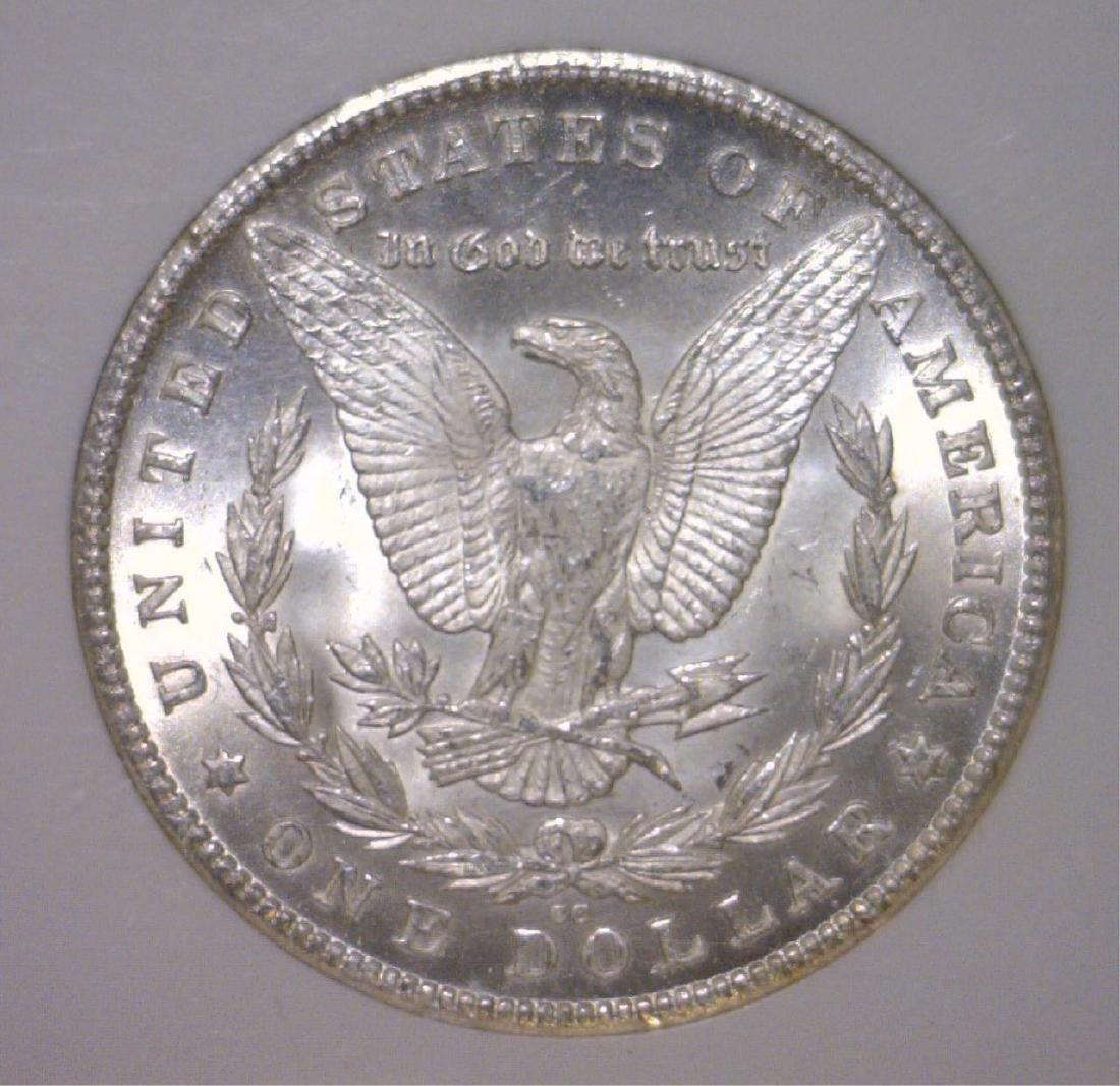 1880-CC Morgan Silver Dollar NGC MS63 - 3