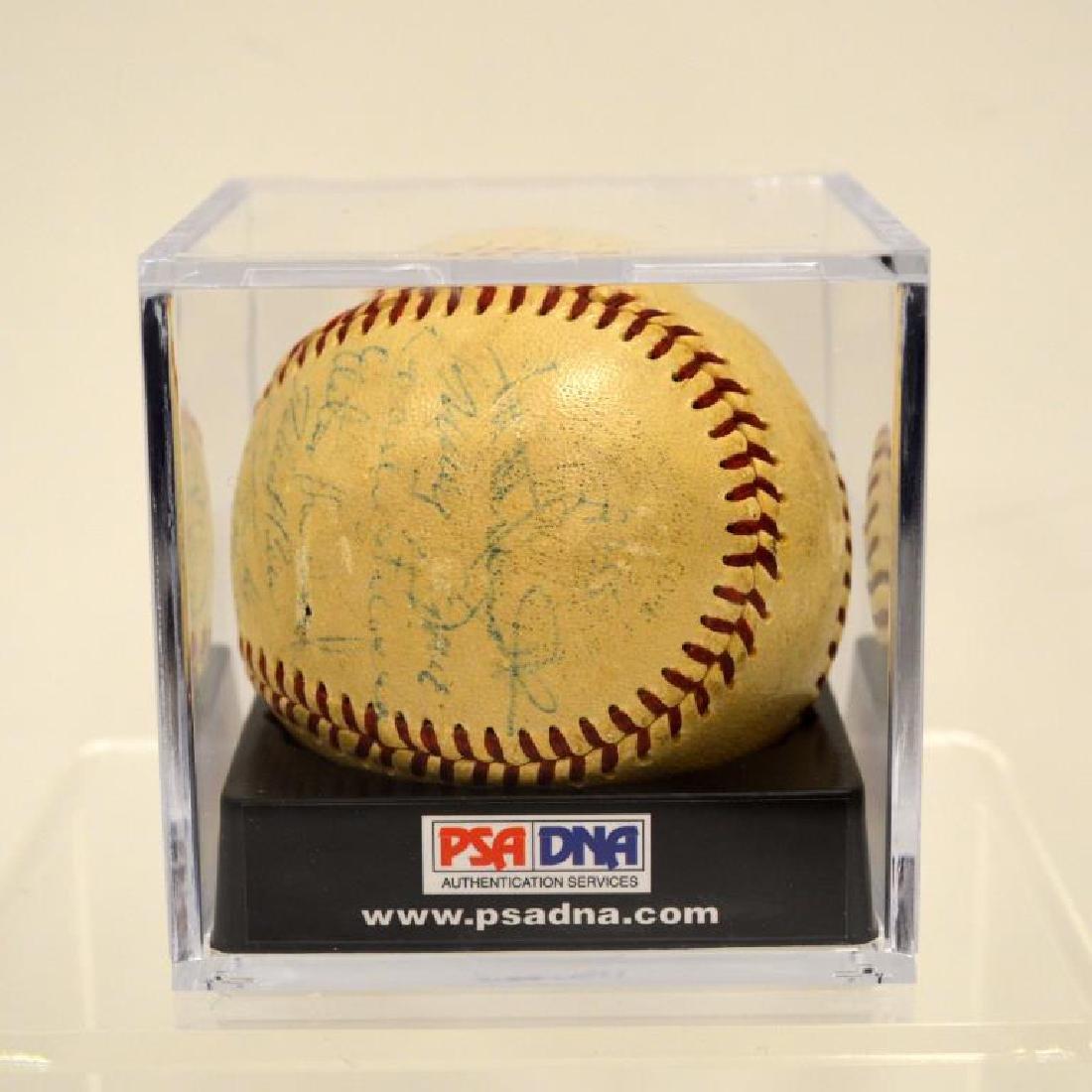 1956 New York Yankees Team-Signed Baseball PSA/DNA