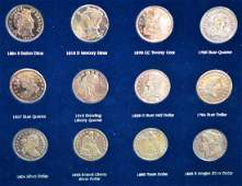 Replicas of America's Greatest Silver Coins w/Box