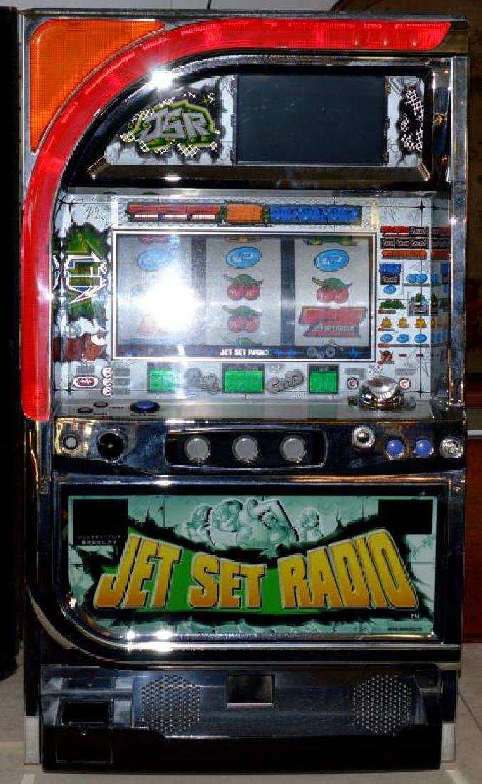 Pachislo Jet Set Radio Skill Stop Slot Machine