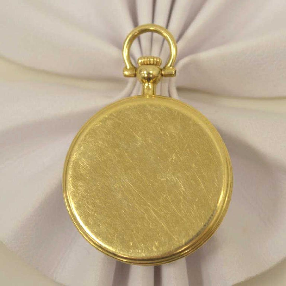 18kt yellow gold Chopard pocket watch - 2