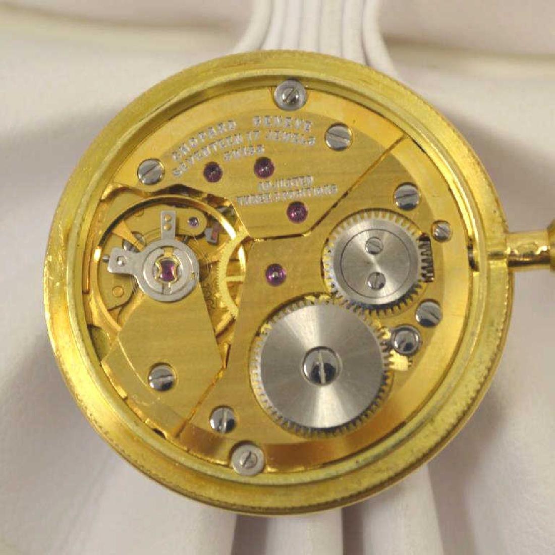 18kt yellow gold Chopard pocket watch - 4