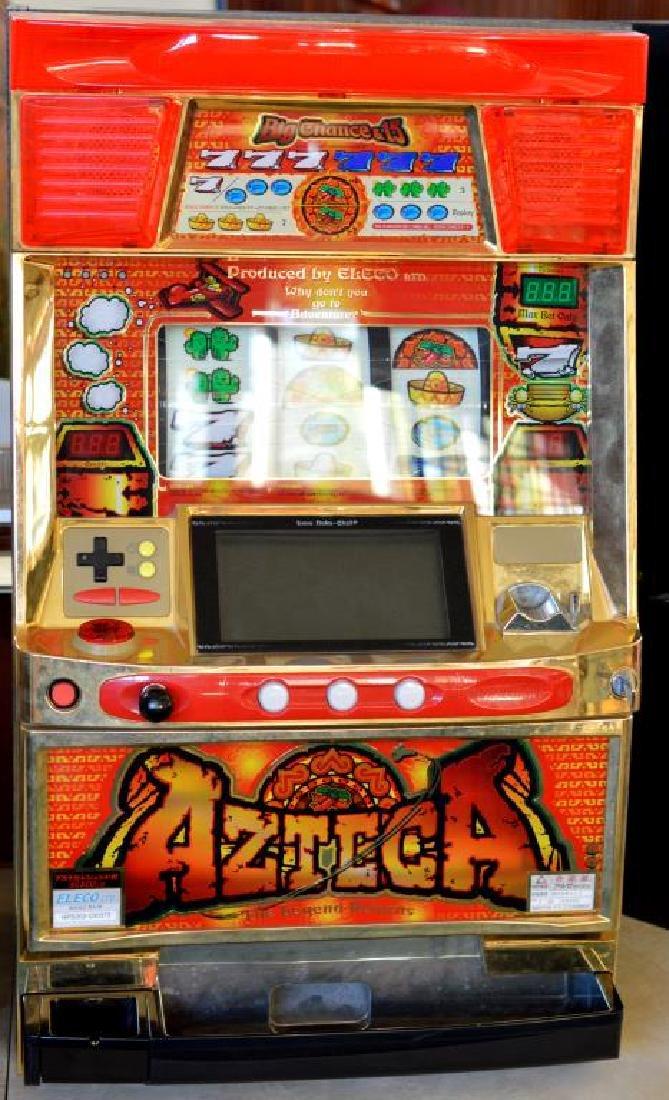 Pachislo Azteca Skill Stop Slot Machine with Video