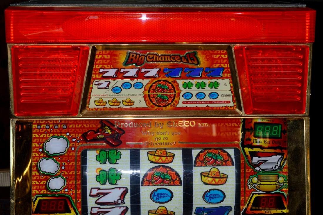 Pachislo Azteca Skill Stop Slot Machine with Video - 2
