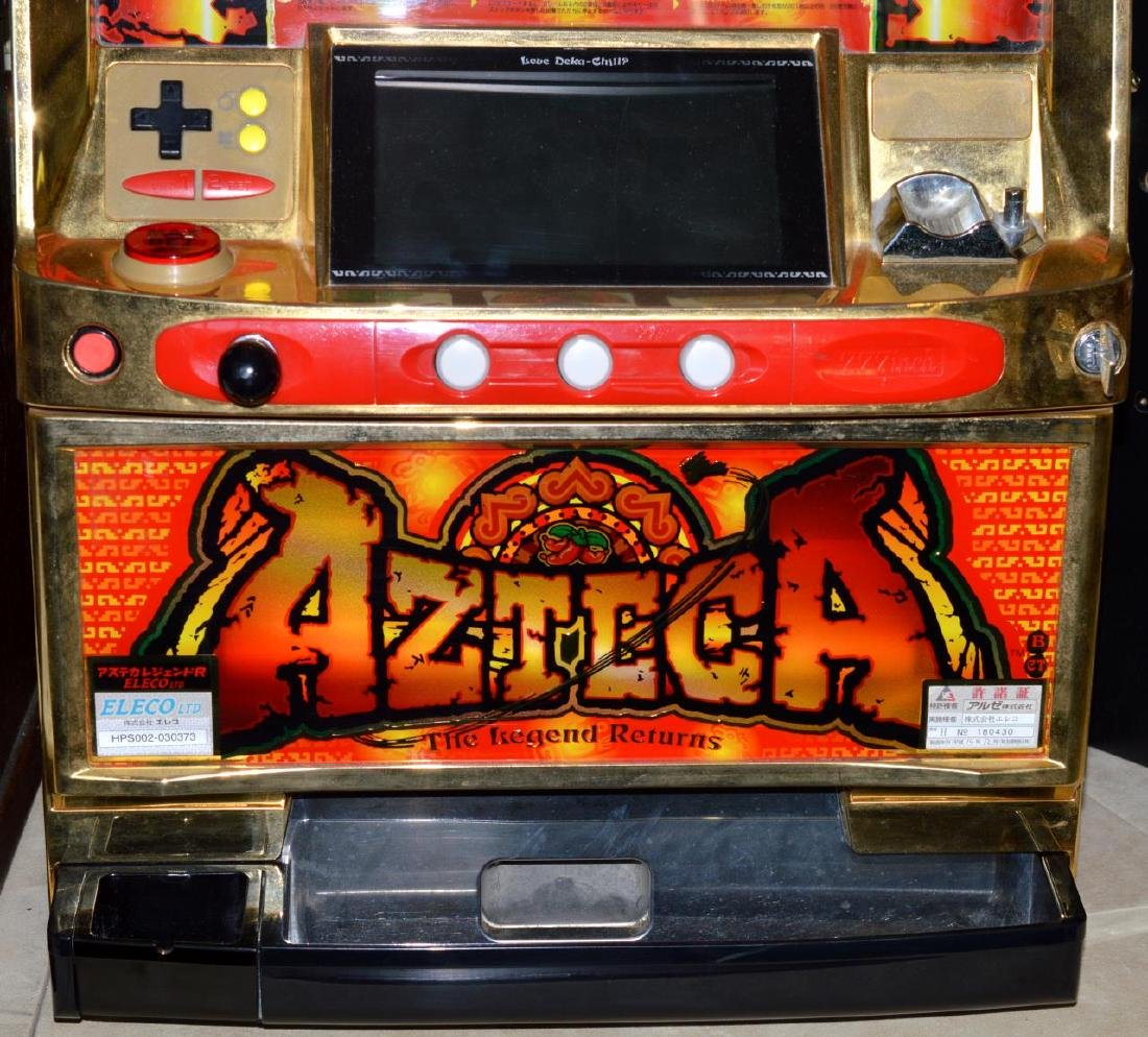 Pachislo Azteca Skill Stop Slot Machine with Video - 3
