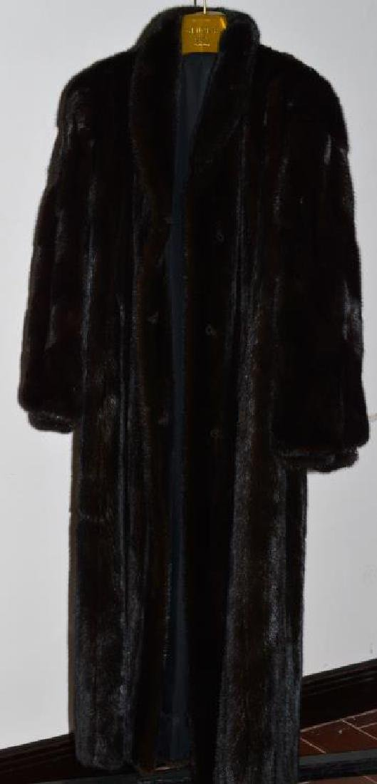 Natural Ranch Mink Coat From Denmark Gluck's Furs