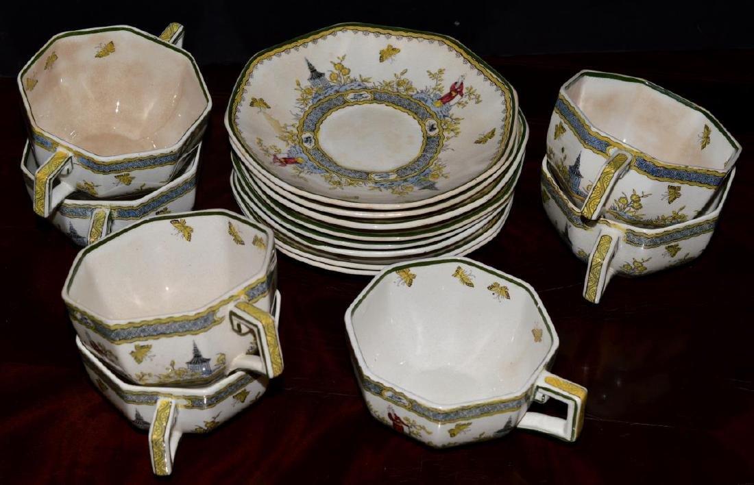 46 Pieces of Vintage Royal Doulton Mandarin China - 5