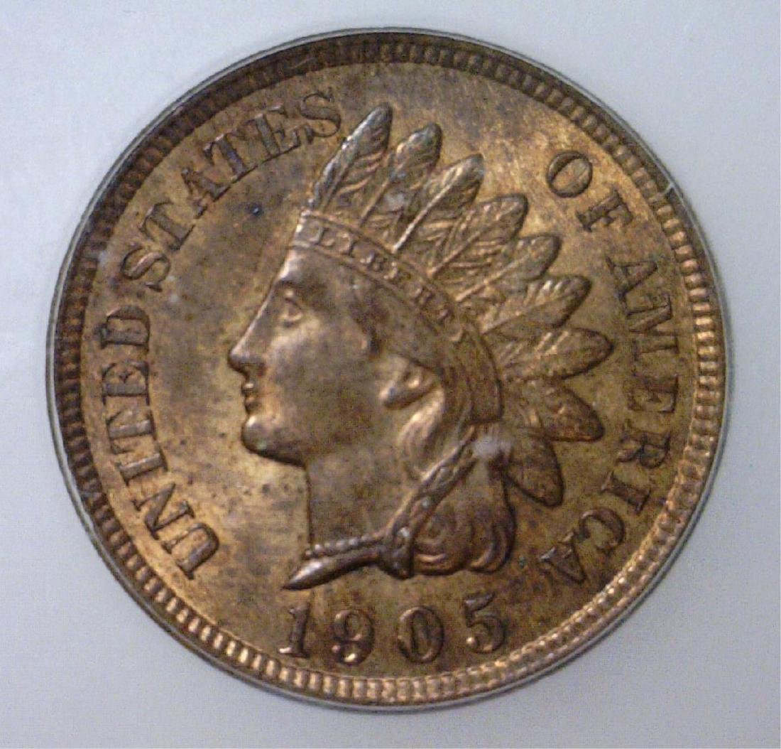 1905 Indian Head Cent ICG MS64 RB