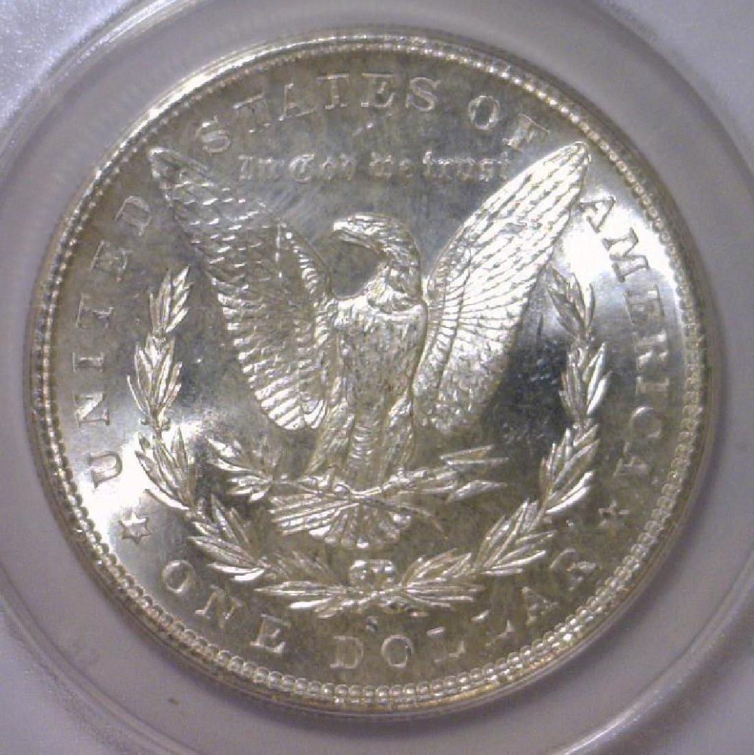 1881-S Morgan Silver Dollar ANACS MS64 - 3