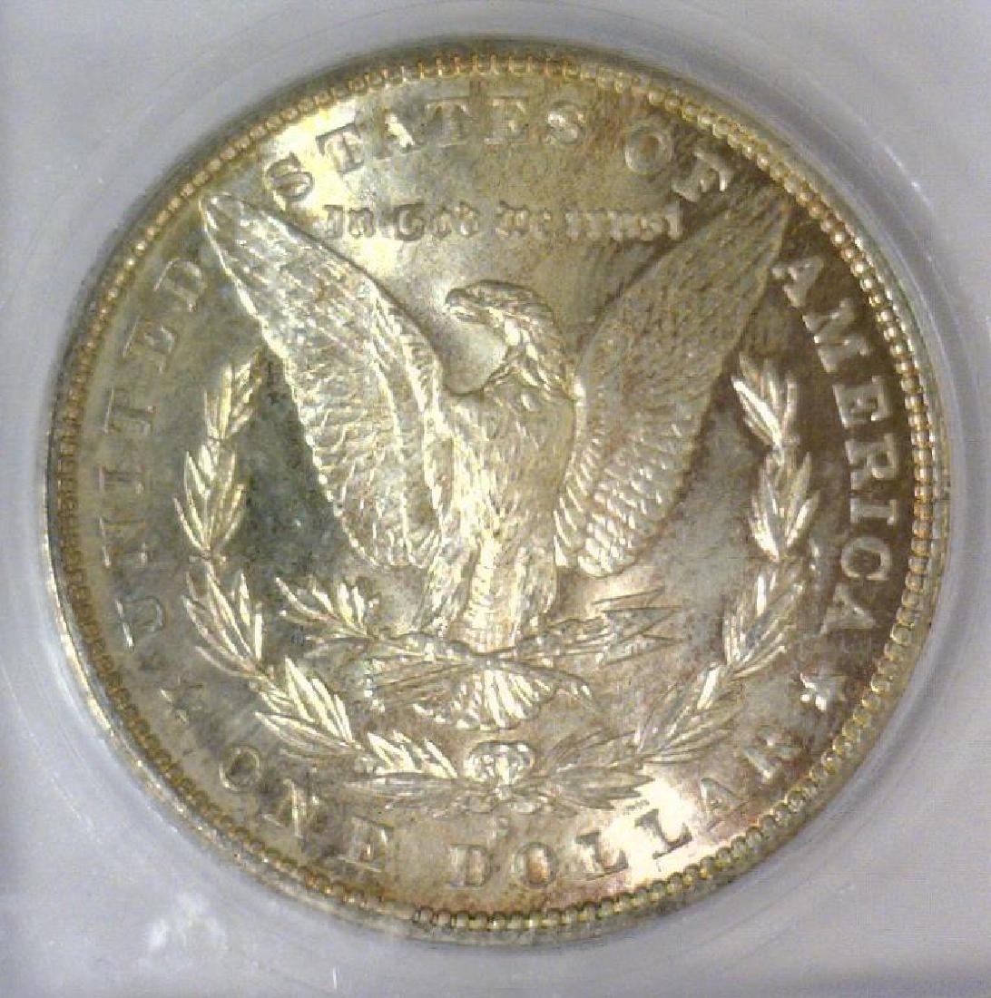 1881-S Morgan Silver Dollar ICG MS-65 - 3