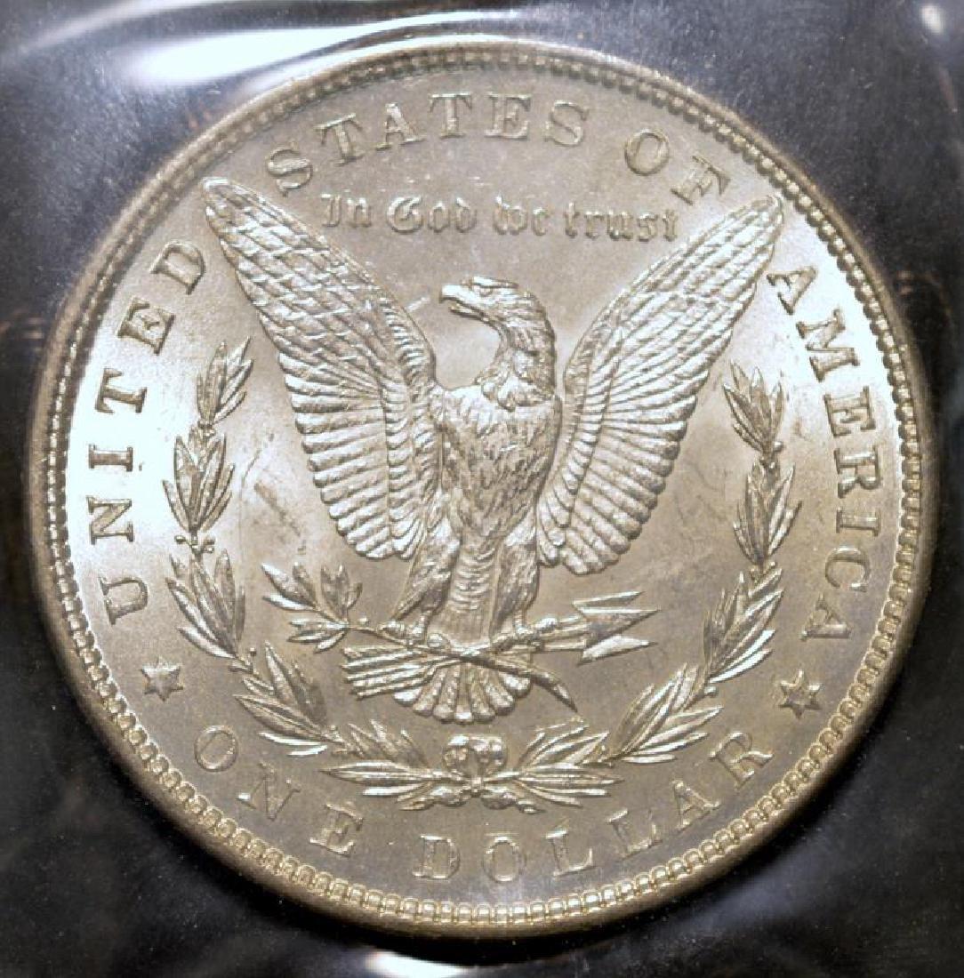 1882 Morgan Silver Dollar BU - 2
