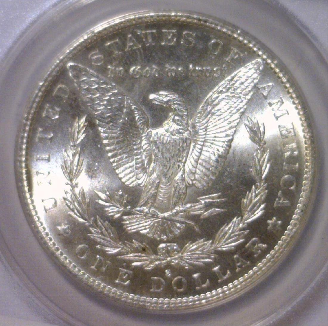 1882-S Morgan Silver Dollar ANACS MS64 - 3