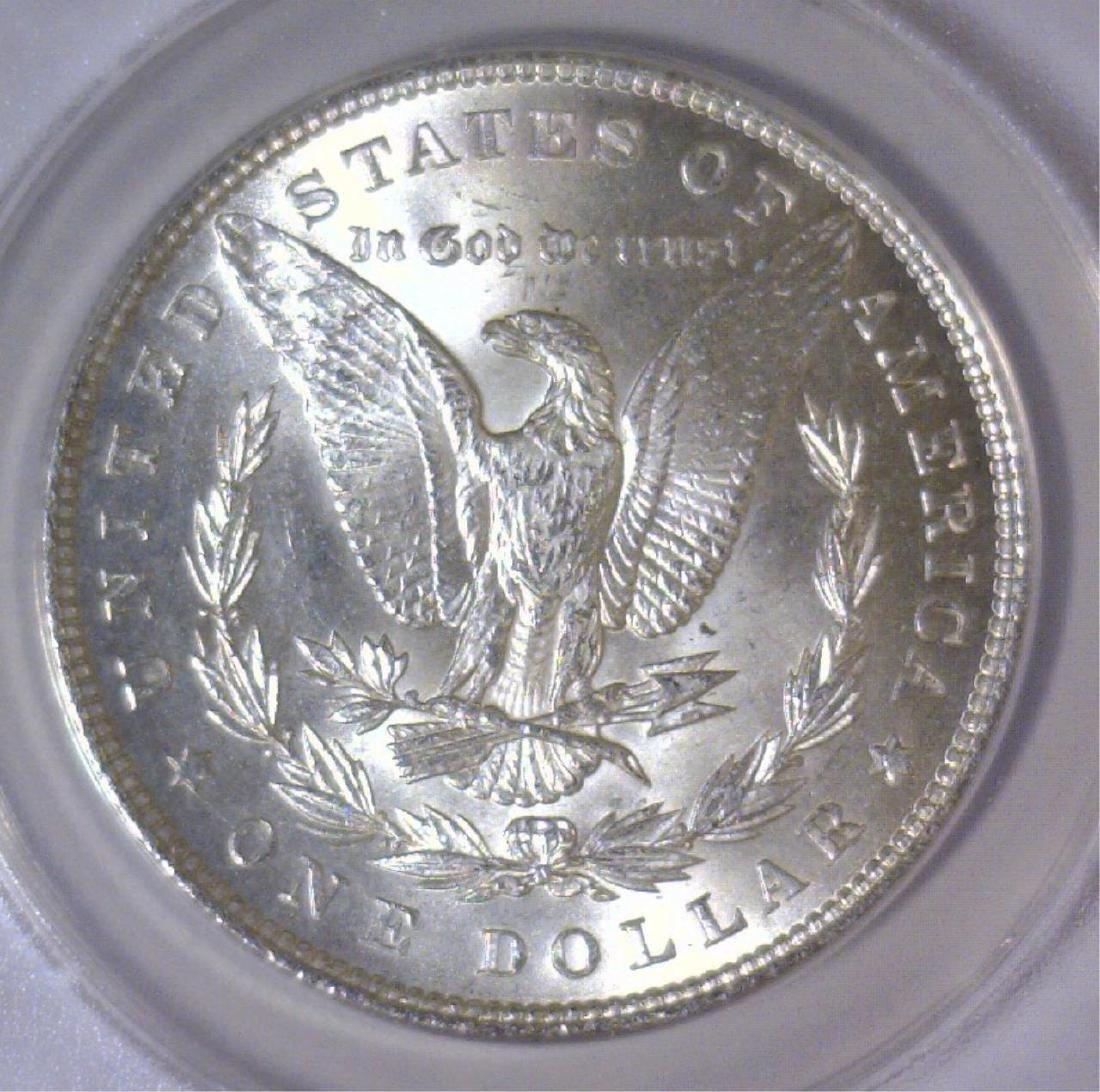 1883 Morgan Silver Dollar ANACS MS63 - 3