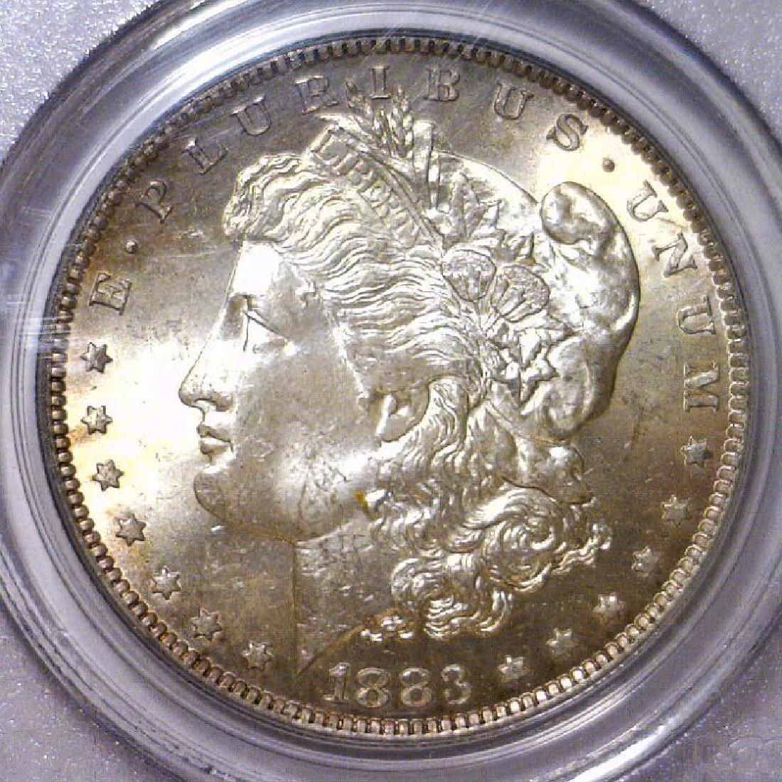 1883-O Morgan Silver Dollar PCGS MS64
