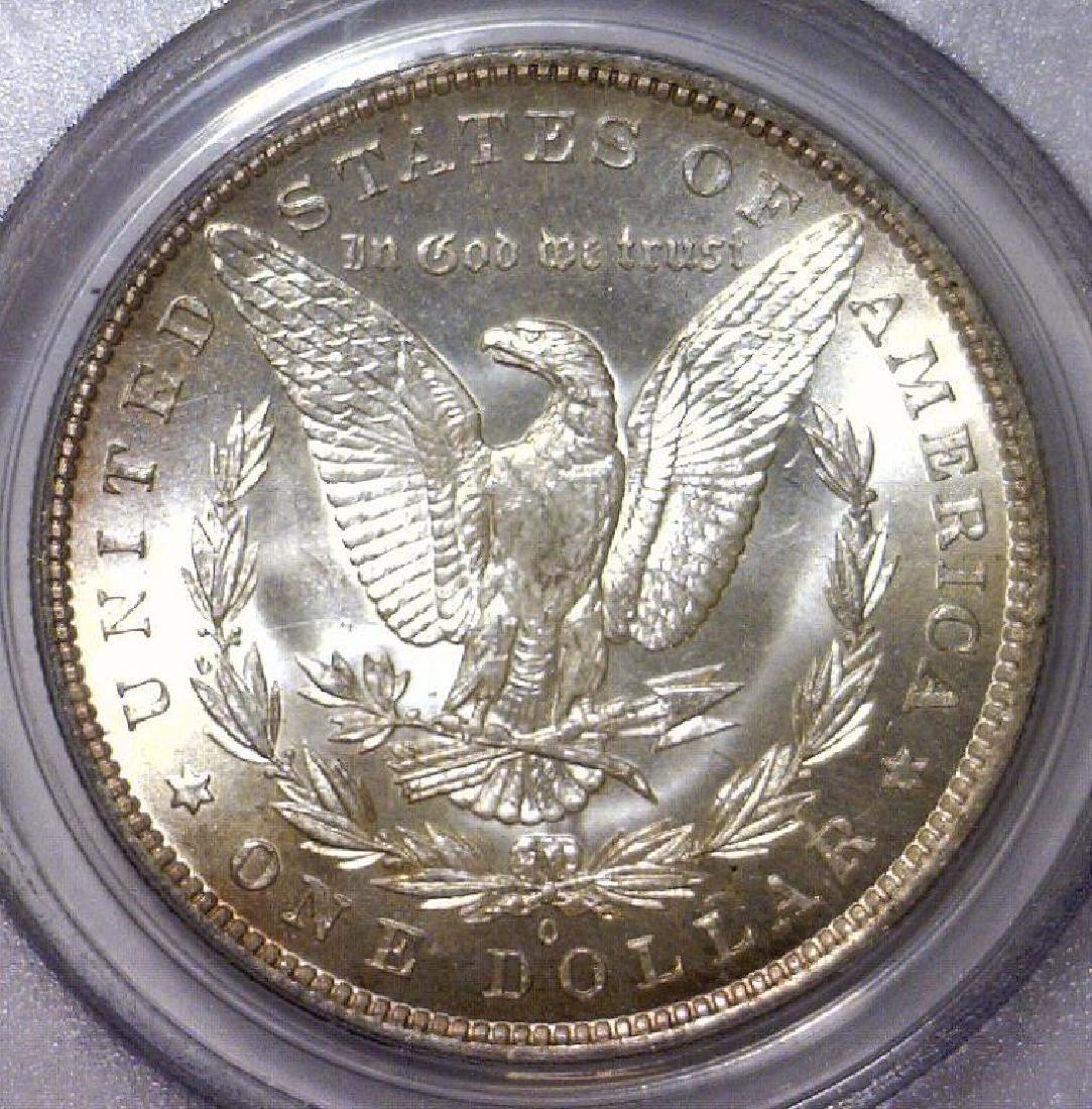 1883-O Morgan Silver Dollar PCGS MS64 - 3
