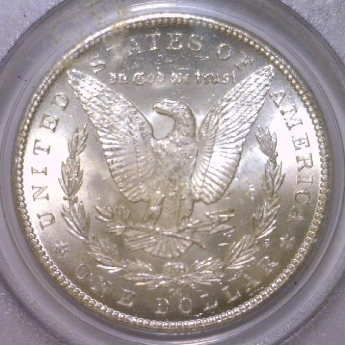 1884-CC Morgan Silver Dollar PCGS MS64 - 3