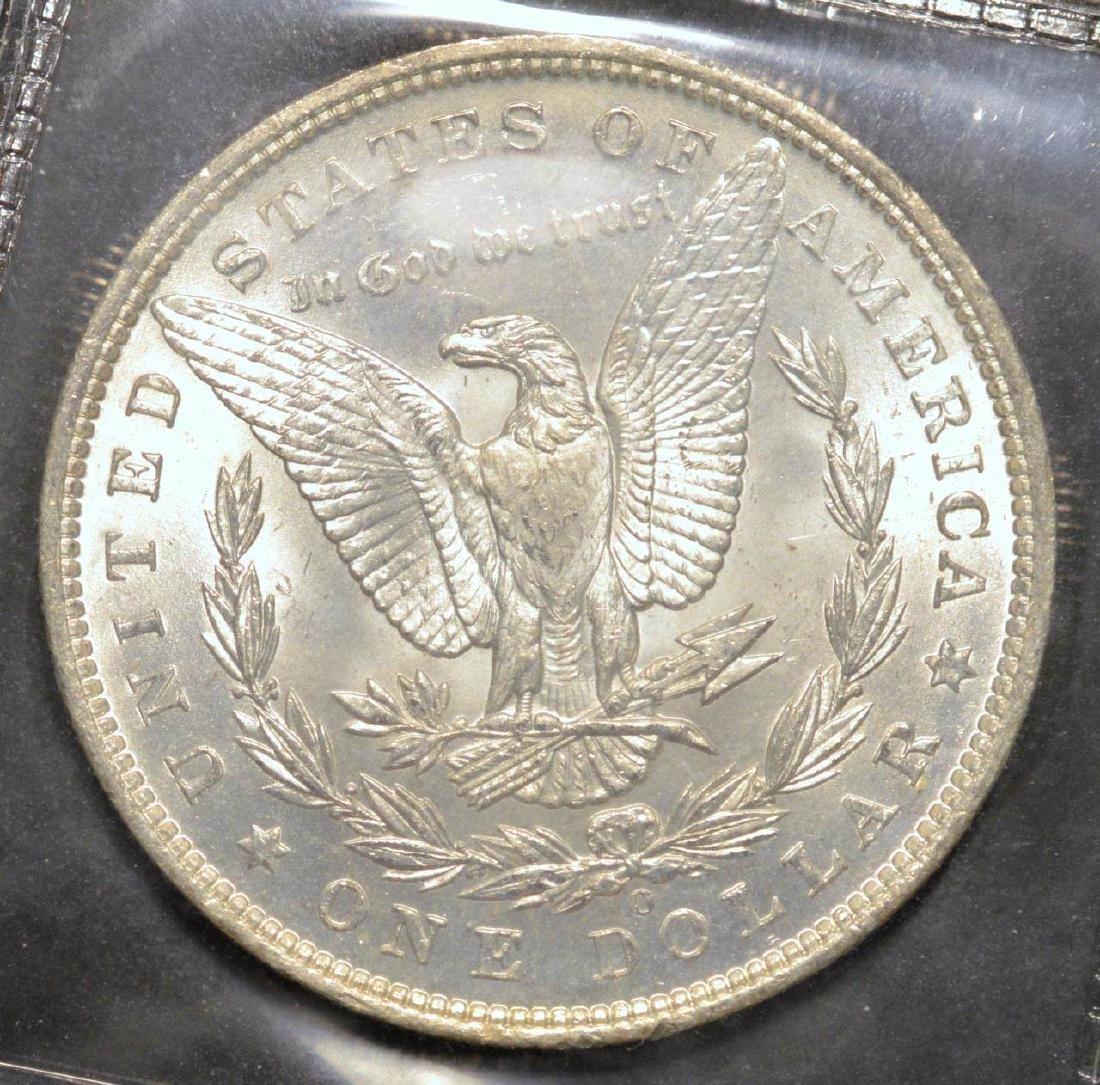 1885-O Morgan Silver Dollar BU - 2