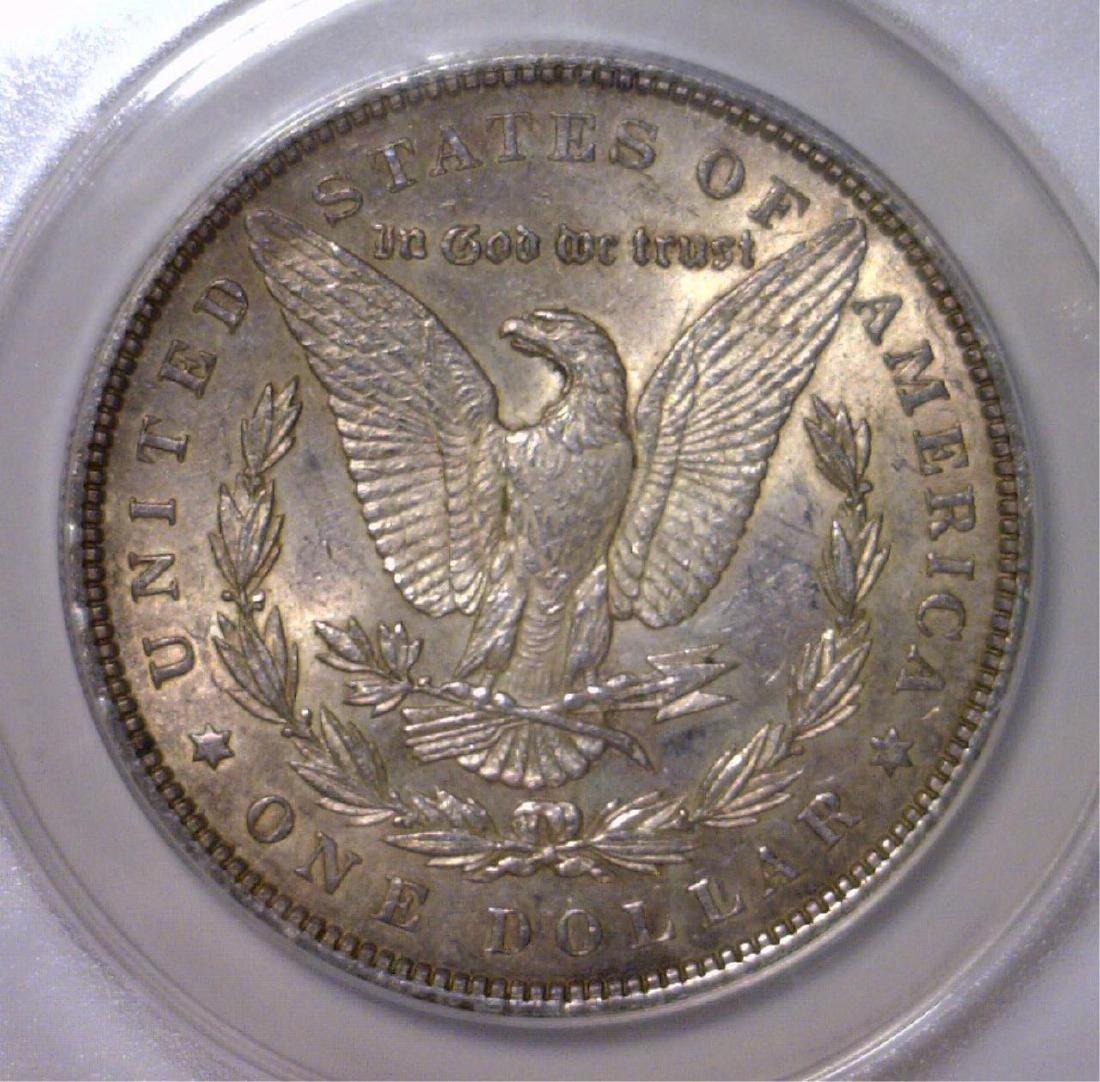 1886 Morgan Silver Dollar ANACS AU58 - 3