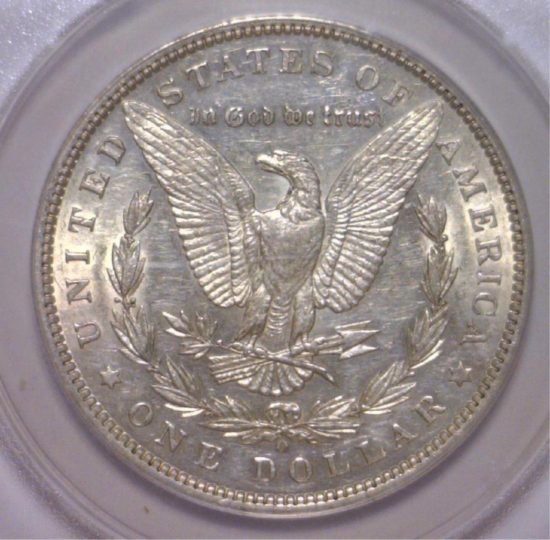 1897-O Morgan Silver Dollar ANACS AU53 Details - 3