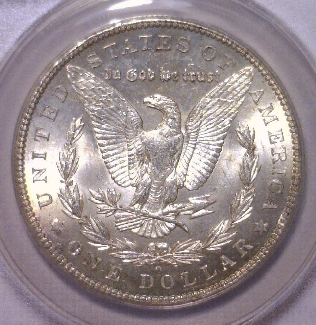 1902-O Morgan Silver Dollar ANACS MS62 - 3