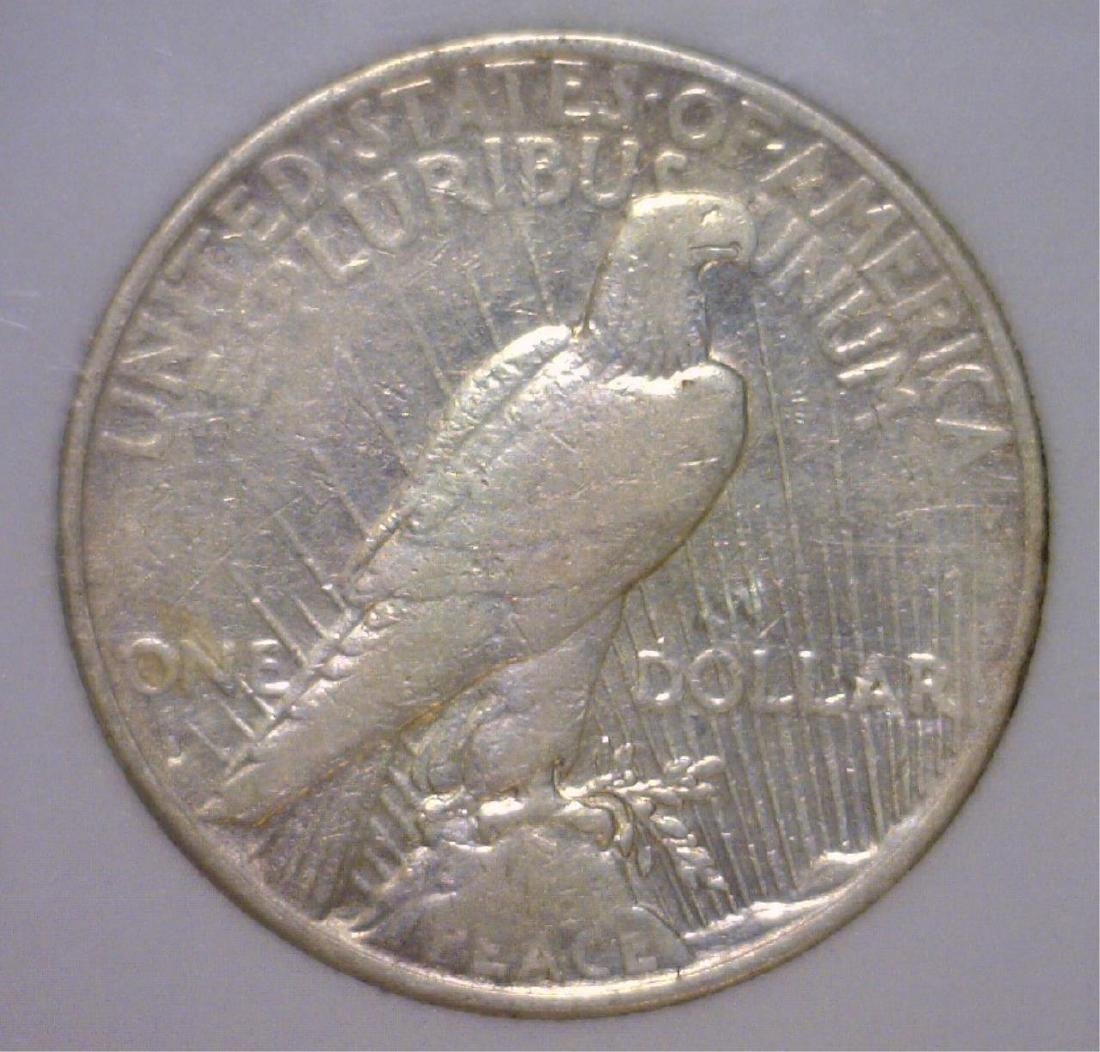 1934-S Peace Silver Dollar Extra Fine Details - 2