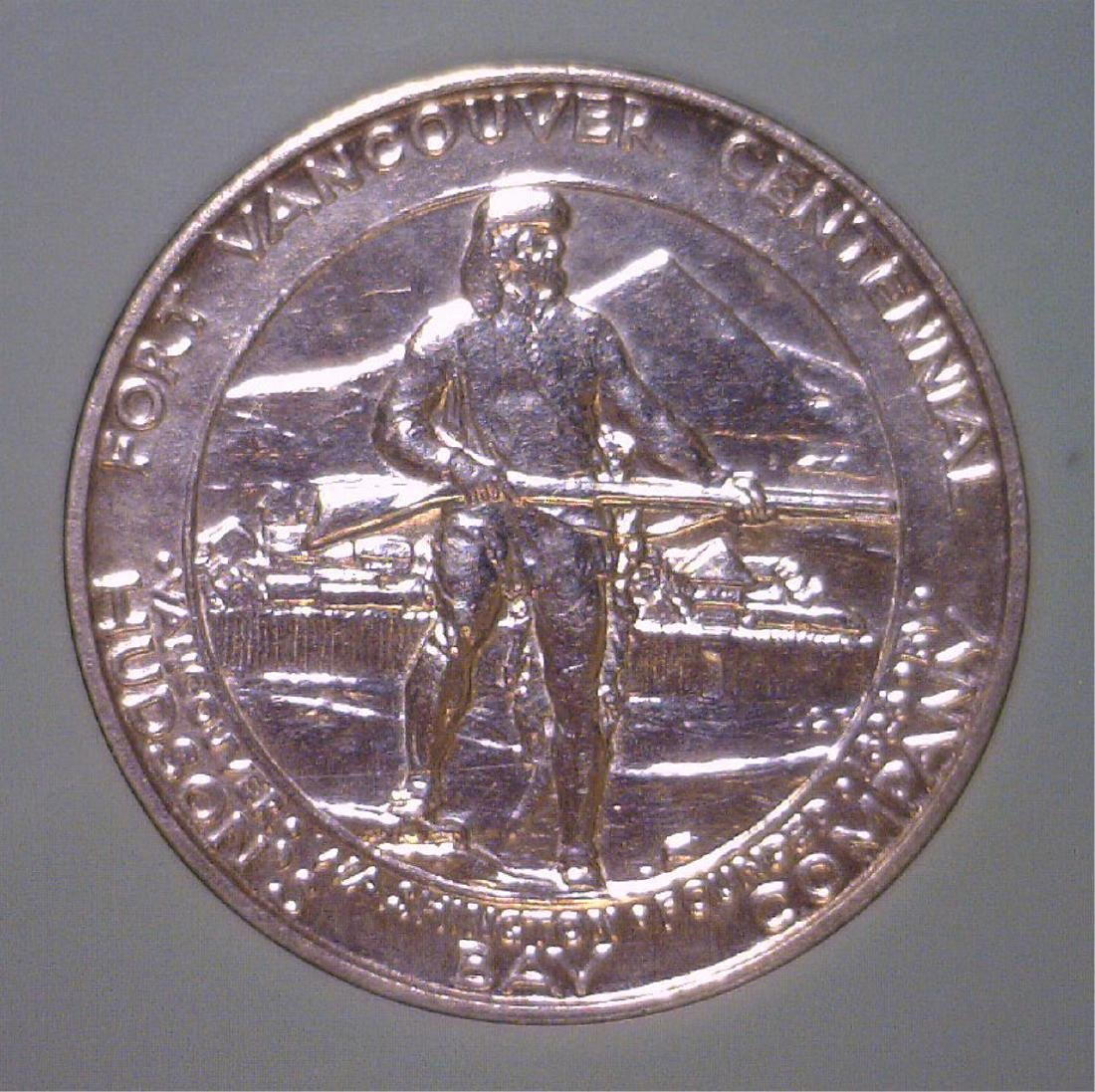 1925 Vancouver Commem. Half BU Uncirculated - 2