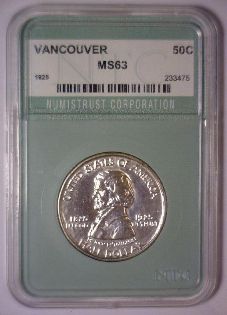 1925 Vancouver Commem. Half BU Uncirculated - 3