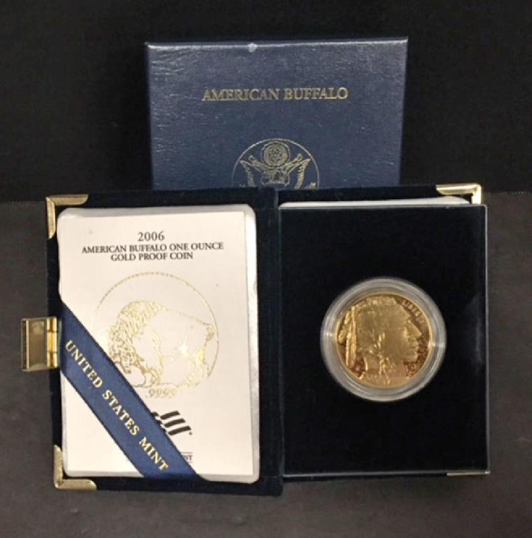 2006 $50 Gold Proof Buffalo OGP Box & COA