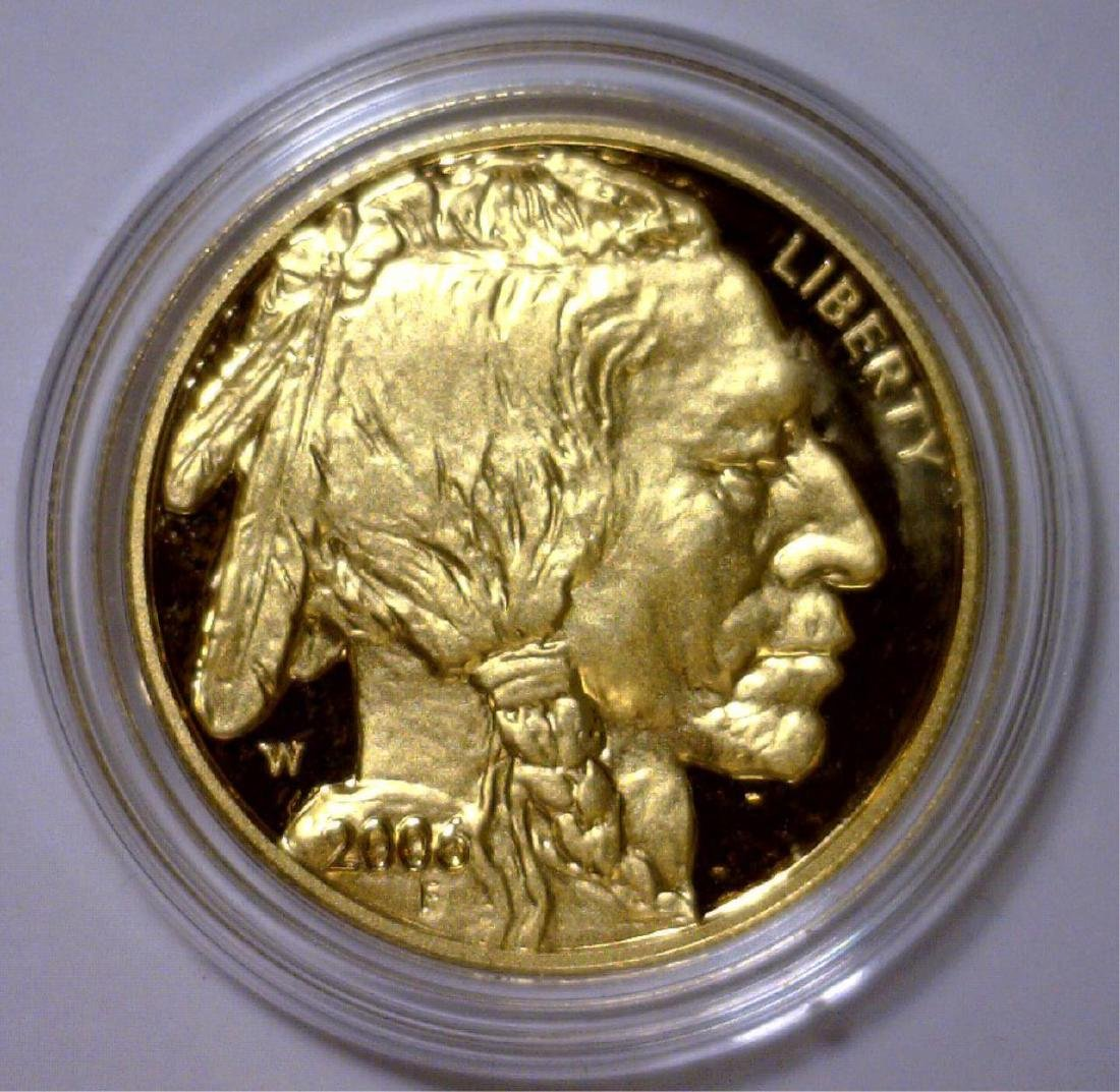 2006 $50 Gold Proof Buffalo OGP Box & COA - 2