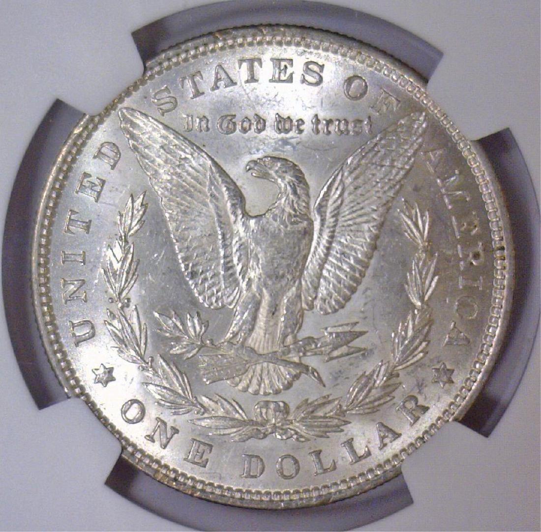 1881 Morgan Silver Dollar NGC MS62 - 3